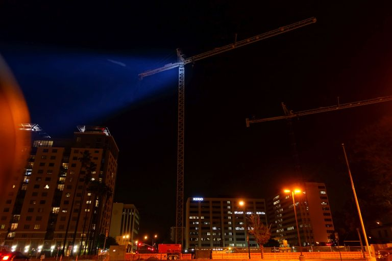 And yes, if you wanted to signal a crane operator ... at night ... you definitely could.