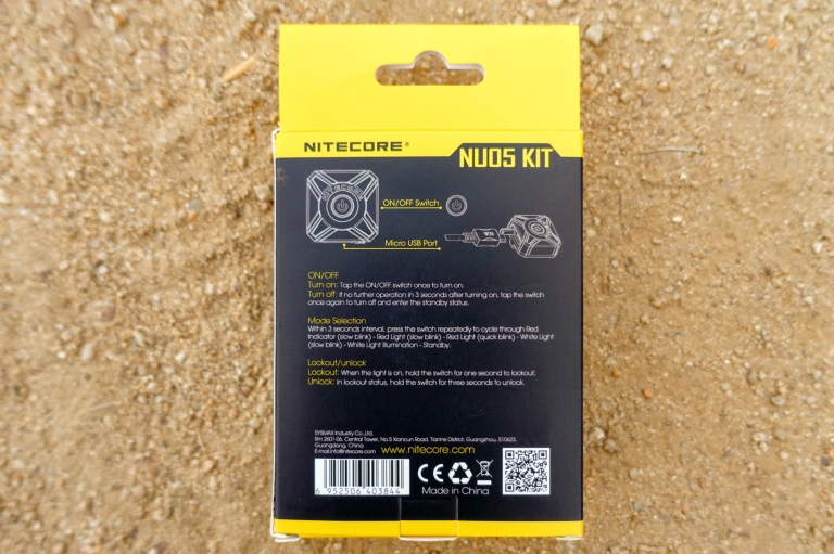 Nitecore NU05 Headlamp Review CivilGear 002