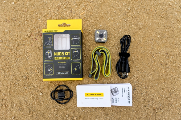 Nitecore NU05 Headlamp Review CivilGear 003