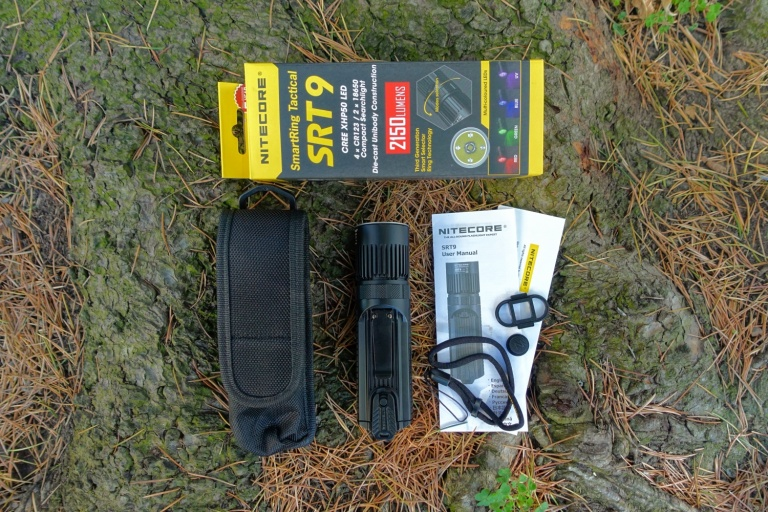 Nitecore SRT9 Flashlight Review CivilGear 049