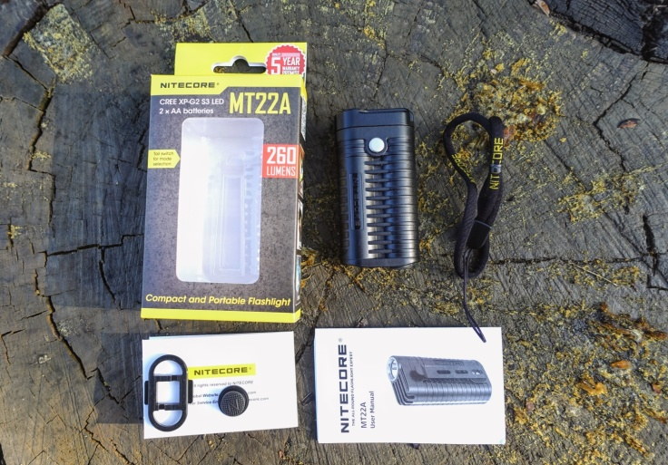 Nitecore MT22A Flashlight Review CivilGear 010
