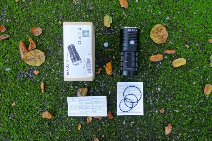 BLF Q8 Flashlight Review CivilGear 001