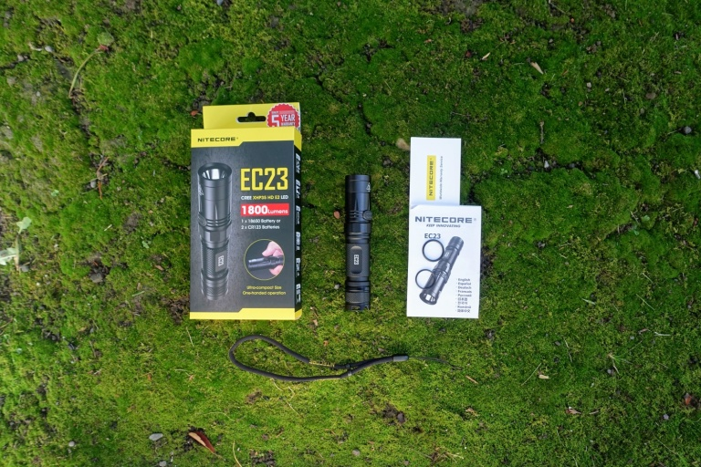 Nitecore EC23 Flashlight Review CivilGear 005