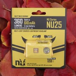 Nitecore NU25 Headlamp Review CivilGear 100
