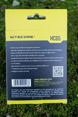 Nitecore HC65 Headlamp Review CivilGear 002