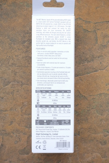 Olight M2T Flashlight Review CivilGear 103