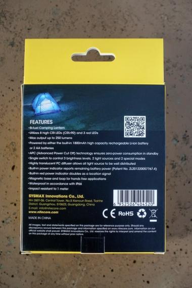 Nitecore LA30 Lantern Review CivilGear 001