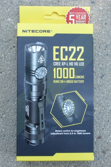 Nitecore EC22 Flashlight Review CivilGear 000