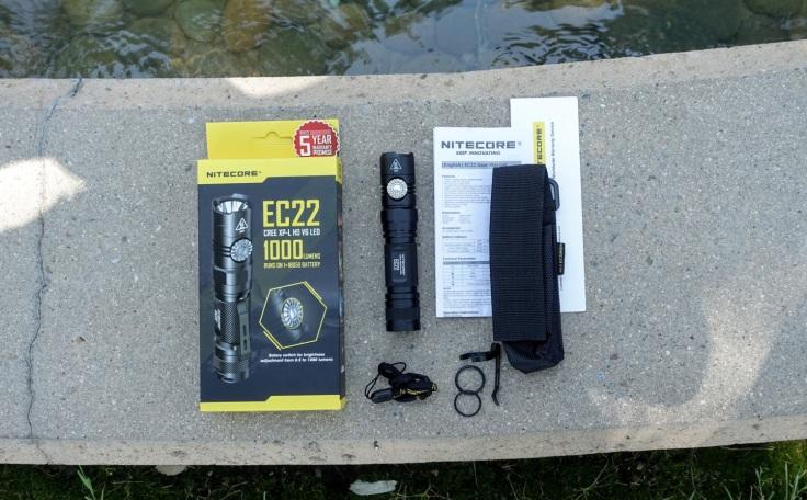 Nitecore EC22 Flashlight Review CivilGear 002