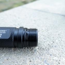 Nitecore EC22 Flashlight Review CivilGear 020