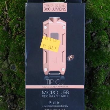 Nitecore TIP Cu Keychain Light Review CivilGear 011