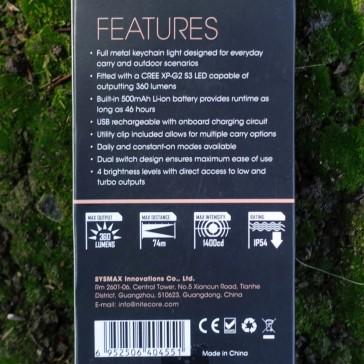 Nitecore TIP Cu Keychain Light Review CivilGear 012