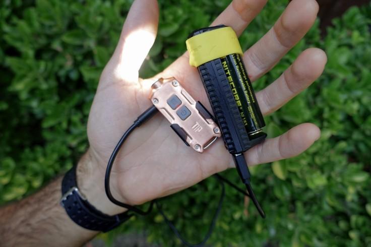 Nitecore TIP Cu Keychain Light Review CivilGear 013