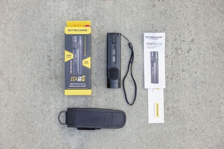 Nitecore EC4GTS Flashlight Review CivilGear 018